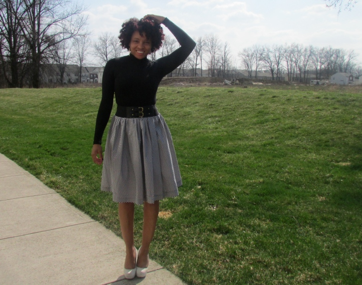 Skirt - Fashion Under 50 Top - Asos Belt - Old Navy Shoes - Aldos